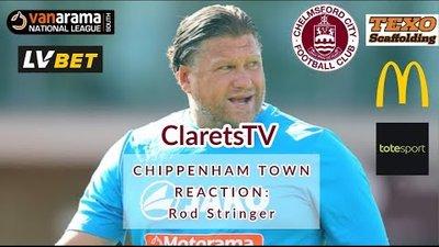 REACTION: Rod Stringer - Post Chippenham Town (H) - 14/09/2019