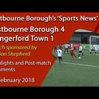 'Sports News': Eastbourne Borough 4 v 1 Hungerford Town - Vanarama National League South Highlights