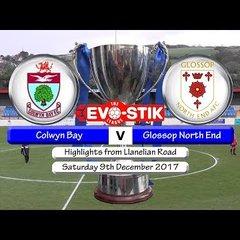 Colwyn Bay v Glossop North End 09/12/17