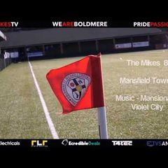 Boldmere St Michaels U15 MJPL v's Mansfield Town Blue