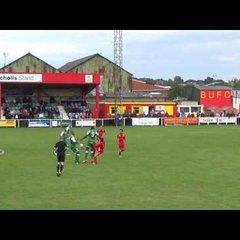 Banbury United 1 Biggleswade Town 1 - 8th Oct 2016 - Match Highlights