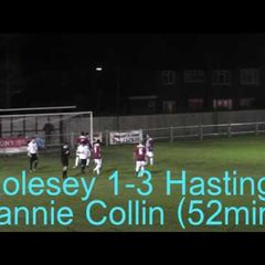 Molesey 5 vs 4 Hastings United