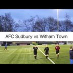 AFC Sudbury vs Witham Town Highlights