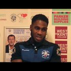 TONBRIDGE ANGELS VS DORKING WANDERERS Post match interviews 26.9.2017