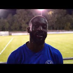Thatcham Town FC 3-0 Woodley Utd FC - Interview with Baboucarr Jarra