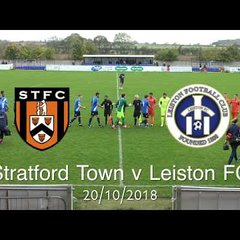 Stratford Town FC  vs Leiston FC | Just the Goals All five of them!