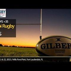ORBS vs Okapi Wanderers Rugby FC Old Boys 02 21 2015 Ruggerfest at Mills Pond Park