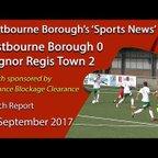 'Sports News': Eastbourne Borough 0 v 2 Bognor Regis Town