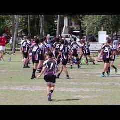 Okapi Wanderers Rugby FC U14 vs  Key Biscayne Rugby 03 05 2017 at Village Green Park