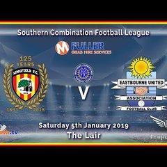 HIGHLIGHTS - Lingfield FC v Eastbourne Utd - League - 05/01/2019