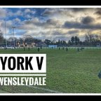 19 January 2019 - York 21 v 34 Wensleydale (u15s)