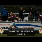 Goal Of The Season | Season 2017/18
