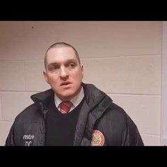 Harlow Town FC vs Merstham post match interview - 30/01/18