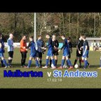 First Team v St Andrews 17.02.18