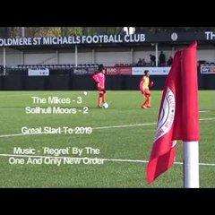 Boldmere St Michaels U15's MJPL v's Solihull Moors Home