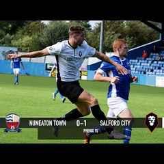 Nuneaton Town 0-1 Salford City - National League North 20/08