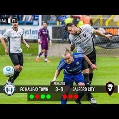 Halifax Town 1-1 Salford City (Halifax won 3-0 on pens) - National League North play-off semi final
