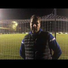 Worksop Town 0 vs 1 Frickley Athletic - John Stancliffe