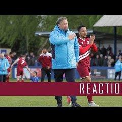 Chippenham Town (A) Reaction: Rod Stringer