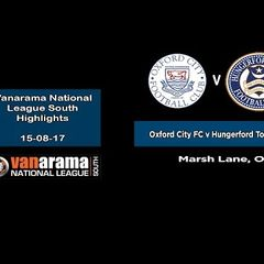 VIDEO | Oxford City FC v Hungerford Town FC