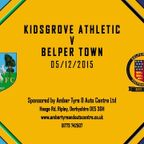 Kidsgrove Athletic 2 - 2 Belper Town 5th December 2015 Highlights