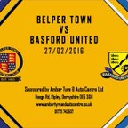 Belper Town 0 - 2 Basford United 27th February 2016 Highlights