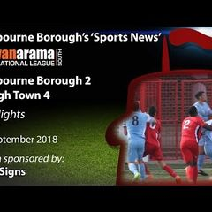 'Sports News': Eastbourne Borough 2 v 4 Slough Town - National League South Highlights