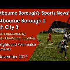 'Sports News': Eastbourne 2 v 3 Bath – Highlights