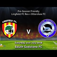 Lingfield FC Reserves 0v2 Ottershaw FC - Pre Season - 21-07-2018