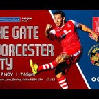 Highgate United 1-4 Worcester City (MFL League Cup)