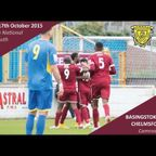 Basingstoke Town 1 vs 2 Chelmsford City - Extended Highlights
