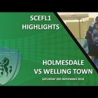 HIGHLIGHTS - Holmesdale 0-3 Welling Town