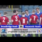 Broadbridge Heath vs Haywards Heath Town - 17th April 2018