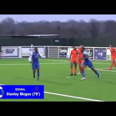 Goals From Grays Athletic v Maldon & Tiptree Feb 10th 2018