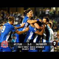 AFC Fylde 3-3 Salford City - National League North 23/08