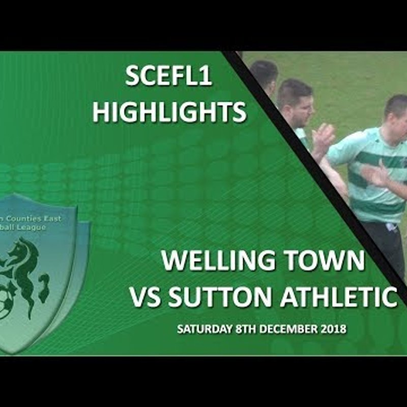 HIGHLIGHTS - Welling Town 4-1 Sutton Athletic