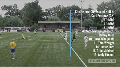 Pre-season Highlights: AFC Sudbury 0-7 Chelmsford City