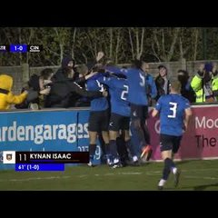 Highlights of Stratford Town 1 vs 0 Cinderford Town CSS Southern League Cup Final 2018/2019
