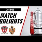 HIGHLIGHTS | Witton Albion 2-1 Spennymoor Town | 2018/19 | Emirates FA Cup