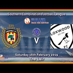 HIGHLIGHTS - Lingfield FC v Loxwood FC - League - 16-02-2019
