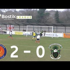 Witham Town F.C 2 - 0 Haringey Borough F.C [Away Highlights]