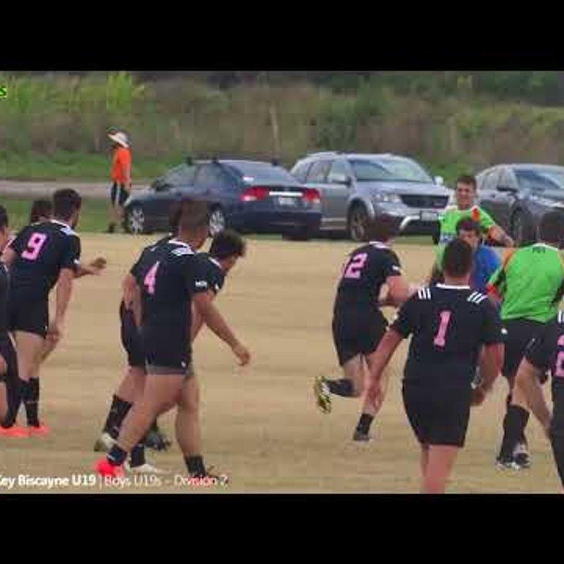 Okapi Wanderers Rugby FC U19 vs Key Biscayne Rugby Highlights Final 04 21 2018