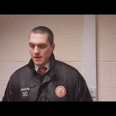 Harlow Town FC vs Kingstonian post match interview - 27/01/18