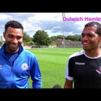 Dulwich Hamlet TV chats to lifelong friends Kevin James and Jermaine Pennant