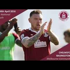 Chelmsford City 0 vs 2 Basingstoke Town - Extended Highlights