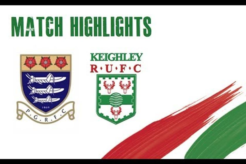 Preston Grasshoppers RFC v Keighley RUFC - Match Highlights