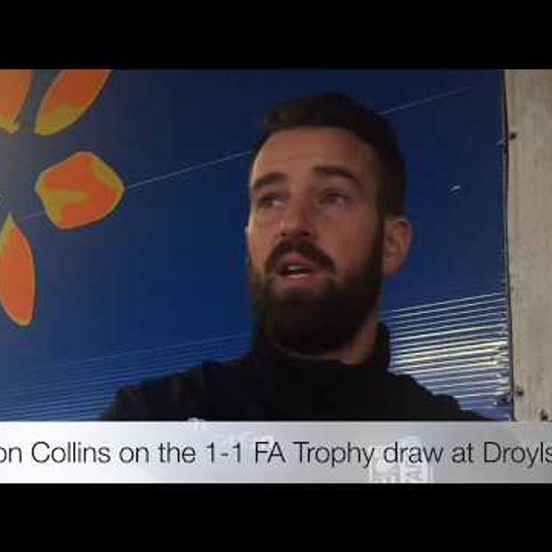 REACTION | Droylsden 1-1 Taddy