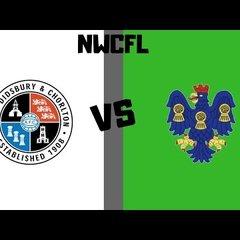 [NVTV] [NWCFL] West Didsbury & Chorlton vs Northwich Victoria [GOALS]