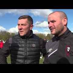 Salford City 3-2 Workington AFC - Jonno & Bern post-match interview
