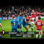 Salford City 2-3 Leamington - National League North 07/10